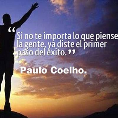 IMÁGENES FRASES REFLEXIÓN MOTIVACIÓN POR PAULO COELHO