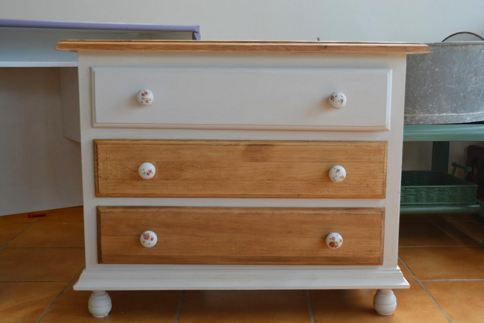 Mermelada de tomate mueble restaurado - Muebles de colores pintados ...