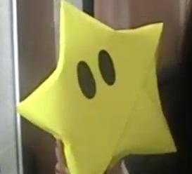 Como hacer un estrella gigante de papel