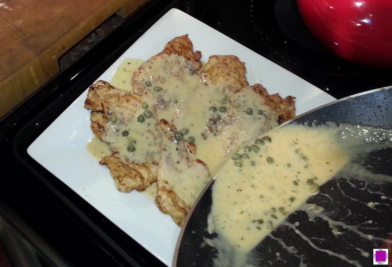 29 chicken scaloppine chicken scaloppine with hazelnut cream sauce ...