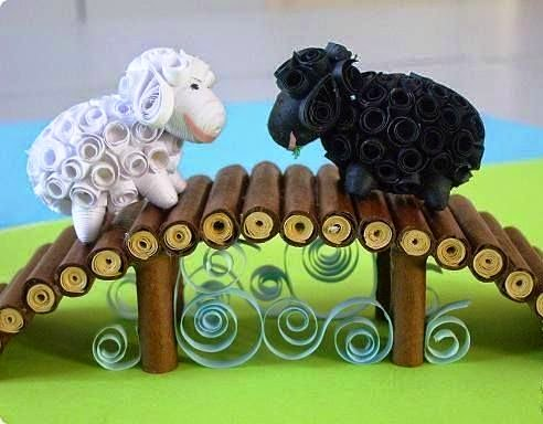 3d paper quilling animal ideas