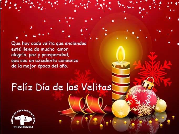 Feliz Dia De Las Velitas