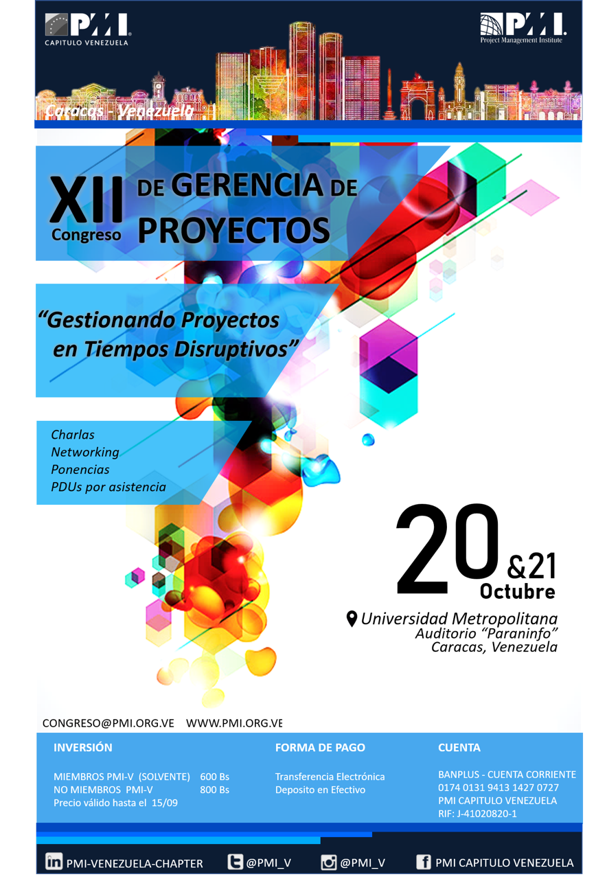 XII Congreso de Gerencia de Proyectos