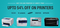 Infibeam : Buy best selling printer upto 54% off