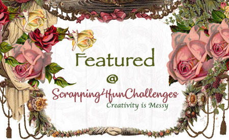 Featured @ scrapping4funchallenges