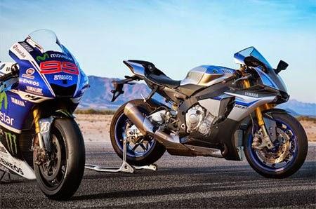 gambar Yamaha R1M superbike 2015