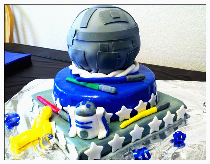 Star wars wedding cake picture