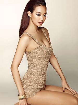 Shin Min Ah - Allure Magazine August Issue 2013