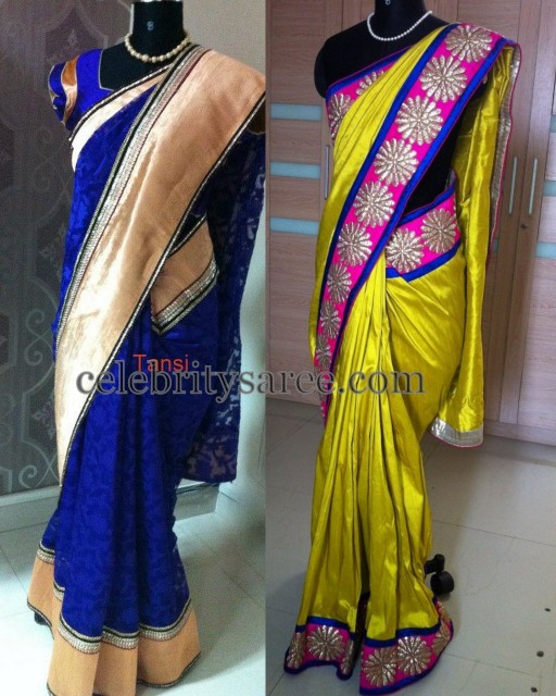 Silk Trendy Sarees by Tansi
