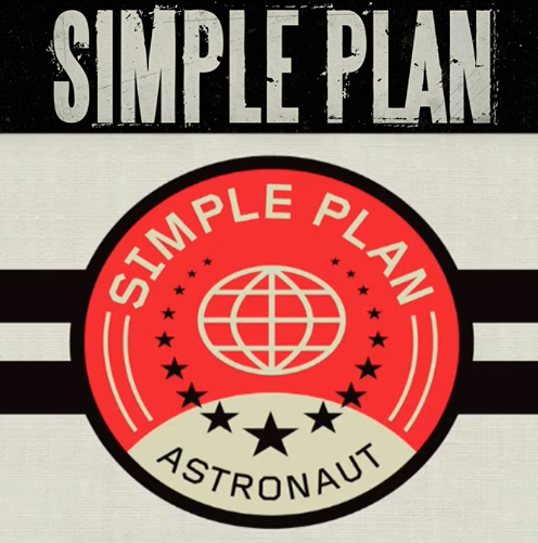 """Simple Plan """"Astronaut"""" Official Single Cover"""