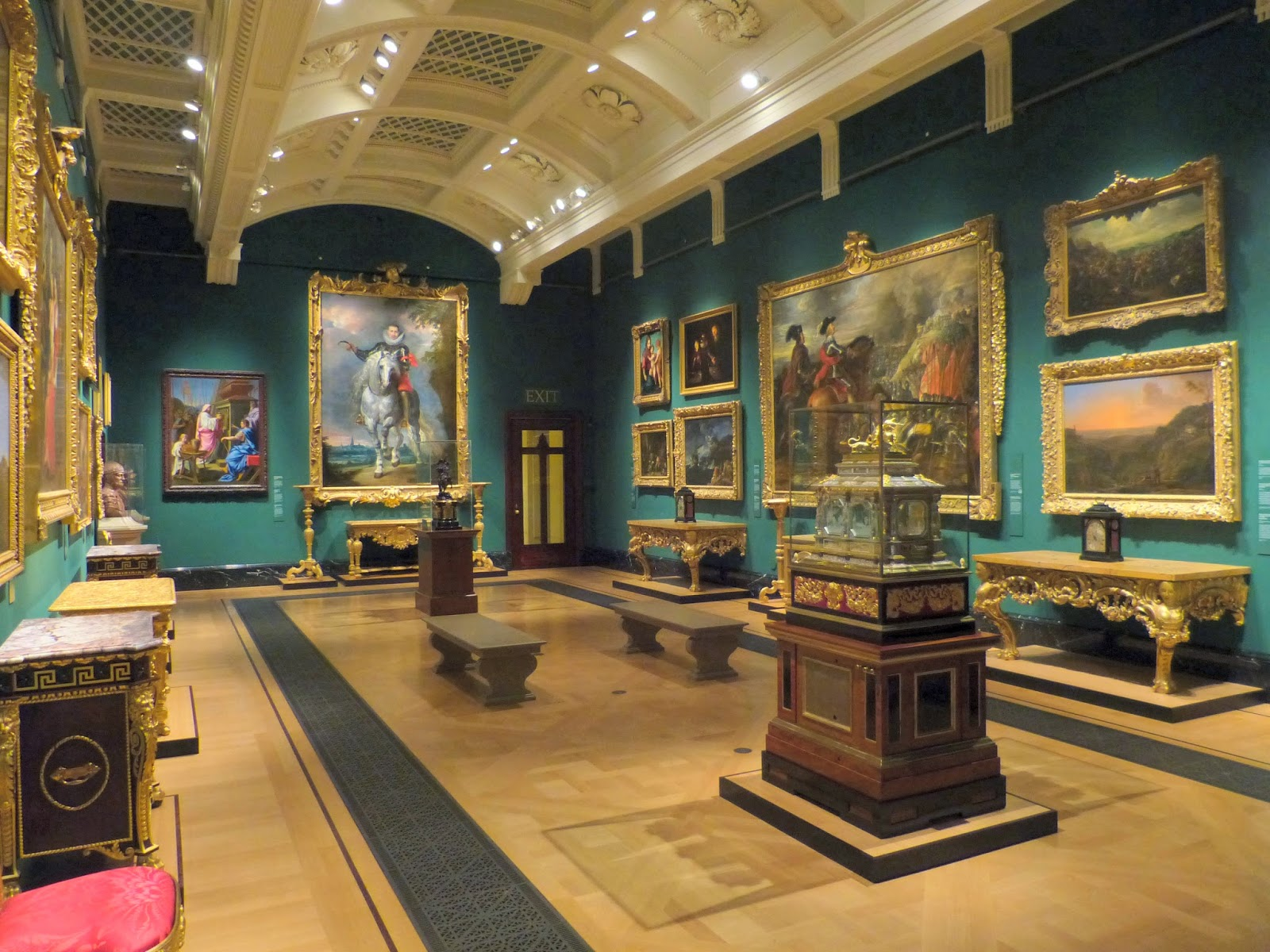 Room displaying Old Masters