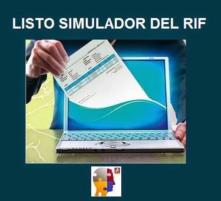 Contribuyentes del RIF ya pueden declarar