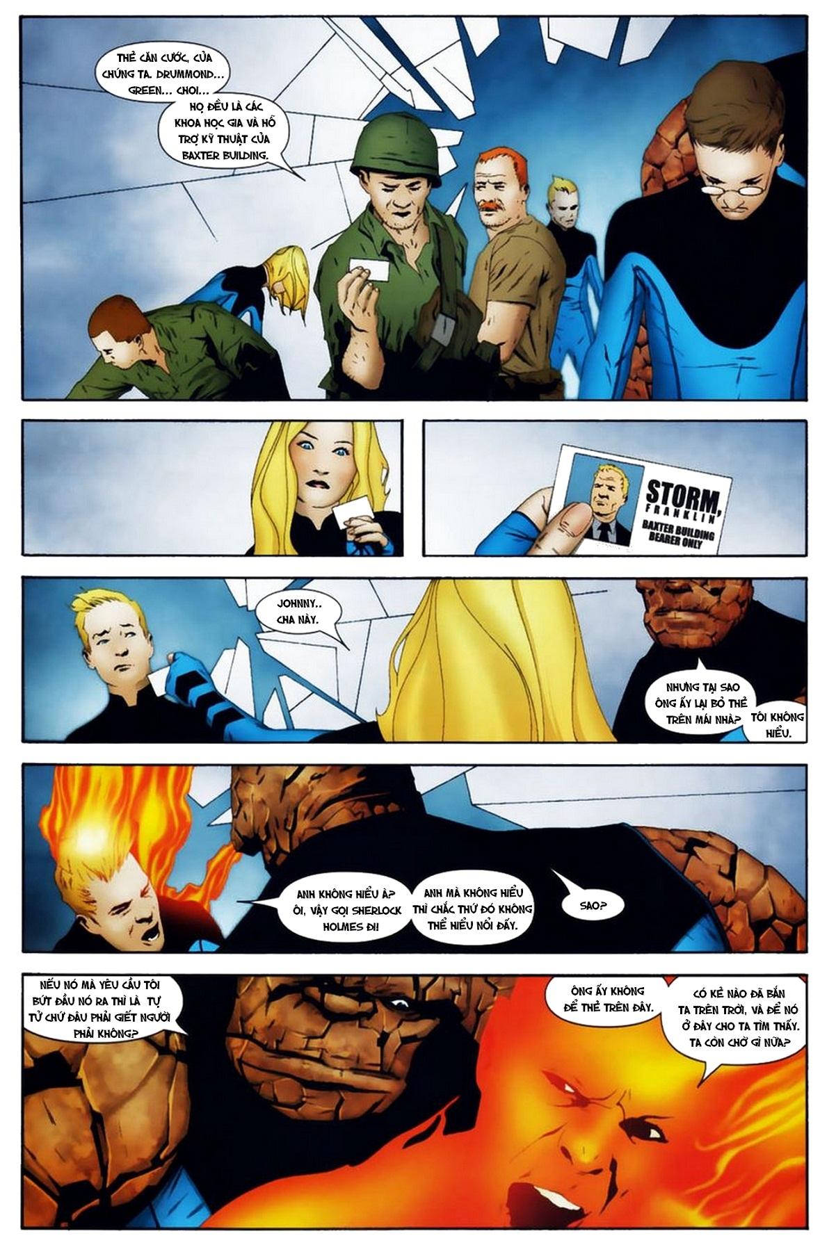 Ultimate Fantastic Four chap 19 - Trang 11