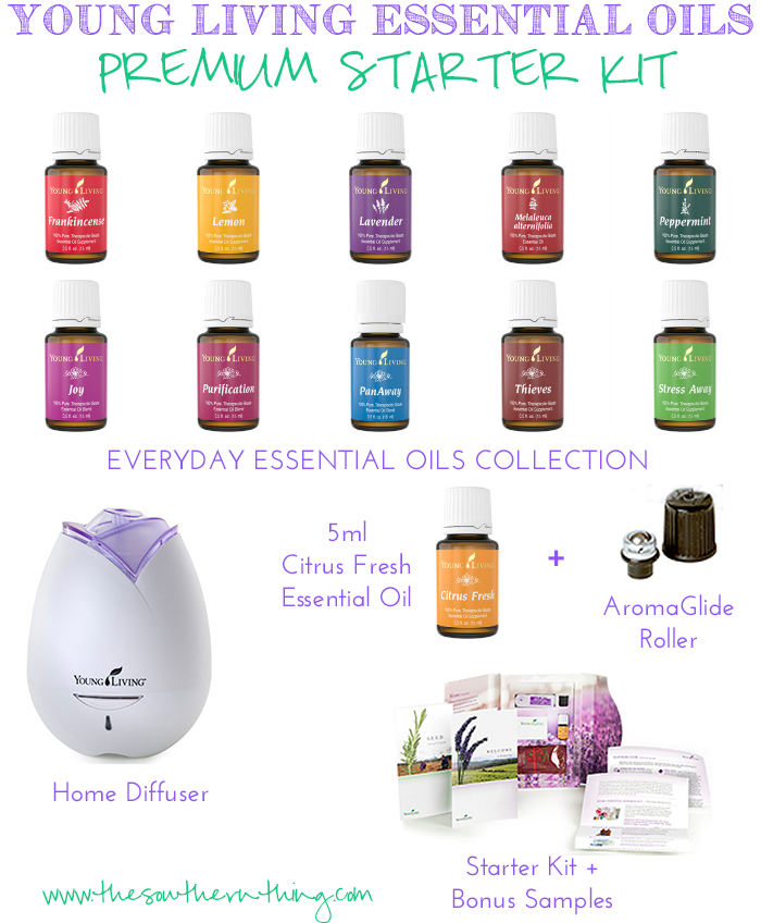 young living essential oils premium starter kit