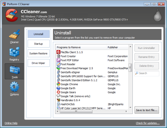 Ccleaner free download direct link