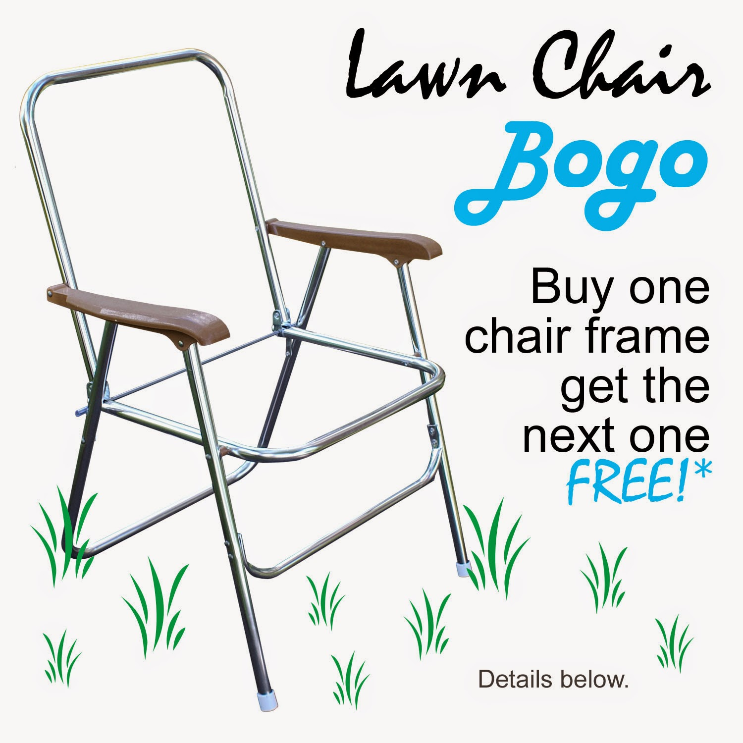 Pepperell Crafts Lawn Chair BOGO