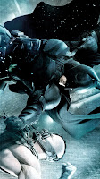 Batman Bane Fight Samsung Galaxy S III Wallpapers
