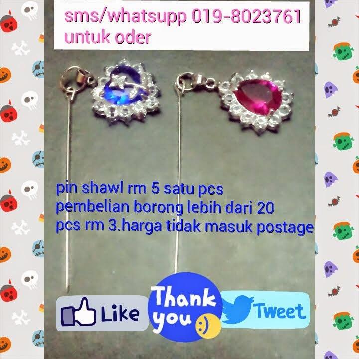 pin shawl rm 3 hrga borong 1 pcs
