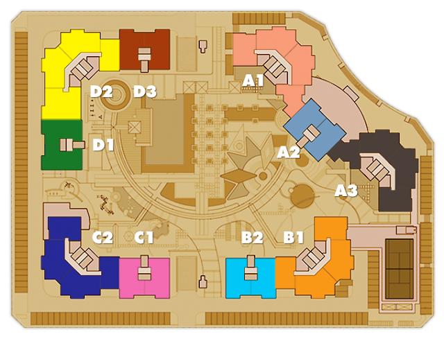 Sơ đồ mặt bằng căn hộ Imperia An Phú Quận 2