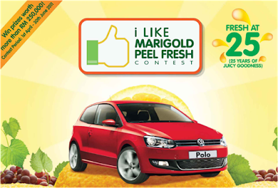 'I Like Marigold Peel Fresh' Contest