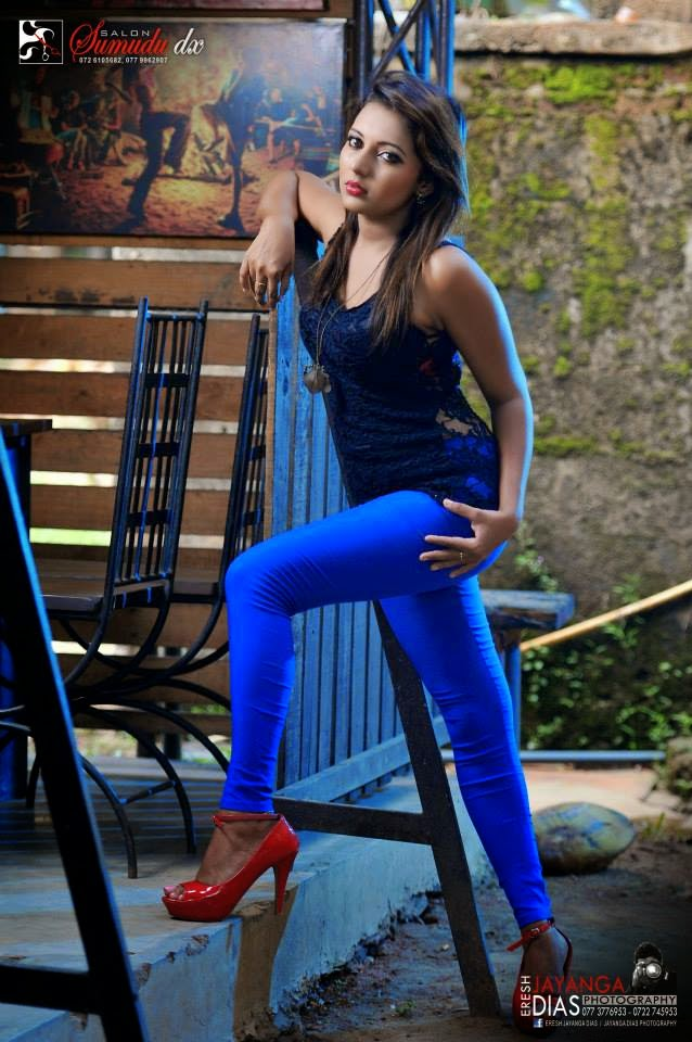 Shani Shenaya Wickremasinghe blue
