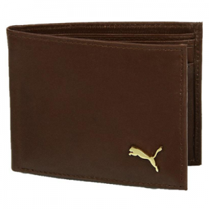Snapdeal : Buy Puma Brown Coin Pouch Leather Wallet At Rs. 385 after cashback – buytoearn