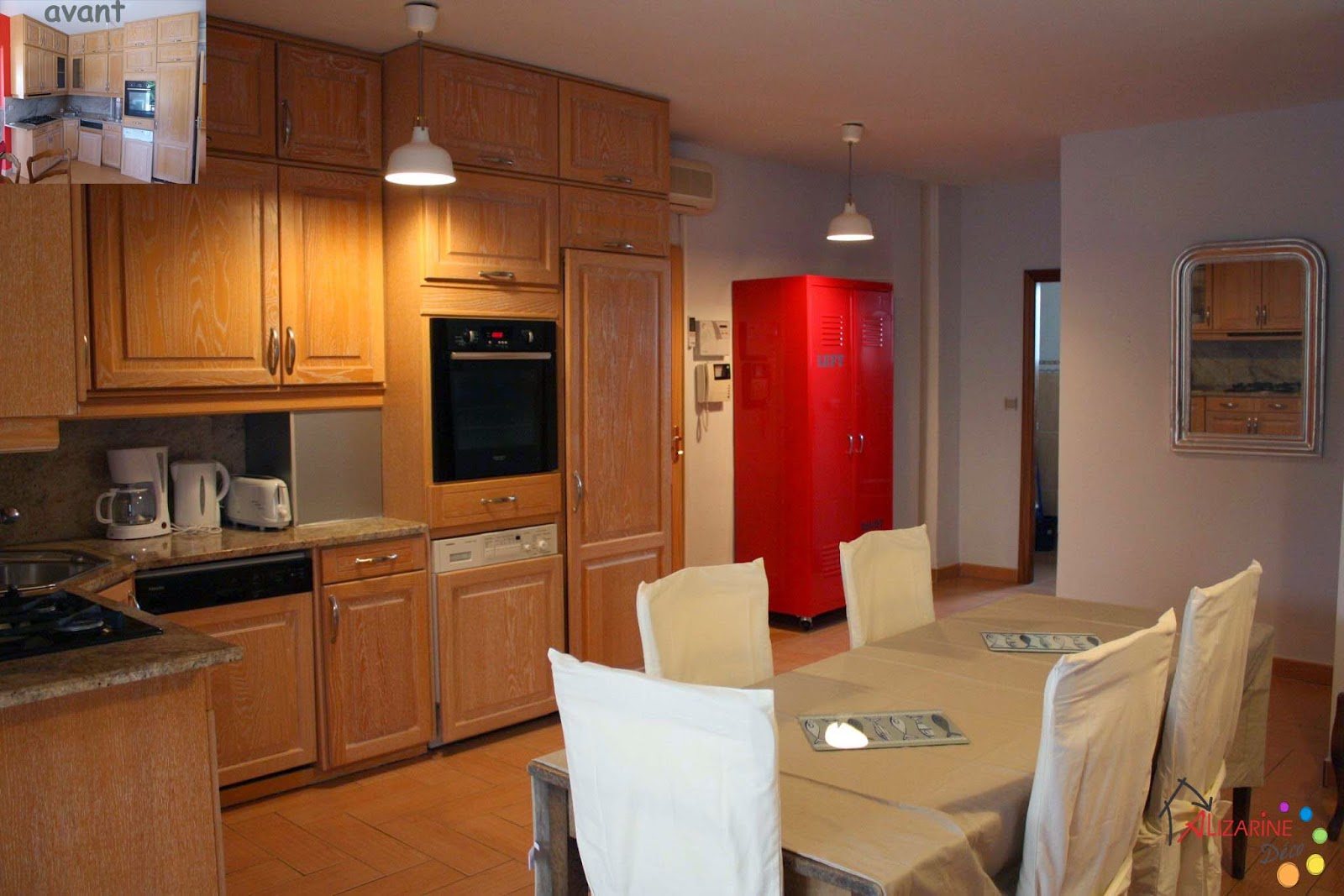 Le blog d 39 alizarine d co am nagement d 39 un appartement de - Armoire de salle a manger ...