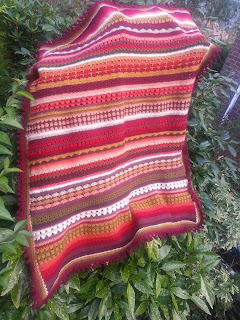 Crochet Spice of Life cal solcal colours colourful