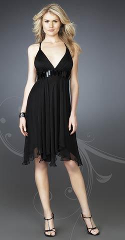 Modelos de vestidos cortos para una fiesta