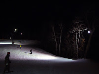 West Mountain night skiing.   The Saratoga Skier and Hiker, first-hand accounts of adventures in the Adirondacks and beyond, and Gore Mountain ski blog.