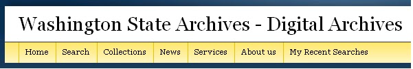 Wash Digital Archives banner
