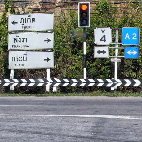 Wohin, nach Phuket, Phangna oder Krabi?