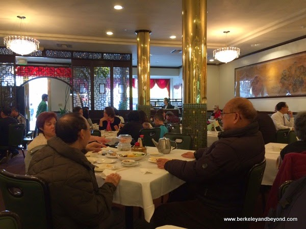 dining room at Great Eastern restaurant in San Francisco