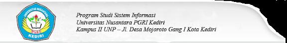 Prodi Sistem Informasi UNP Kediri