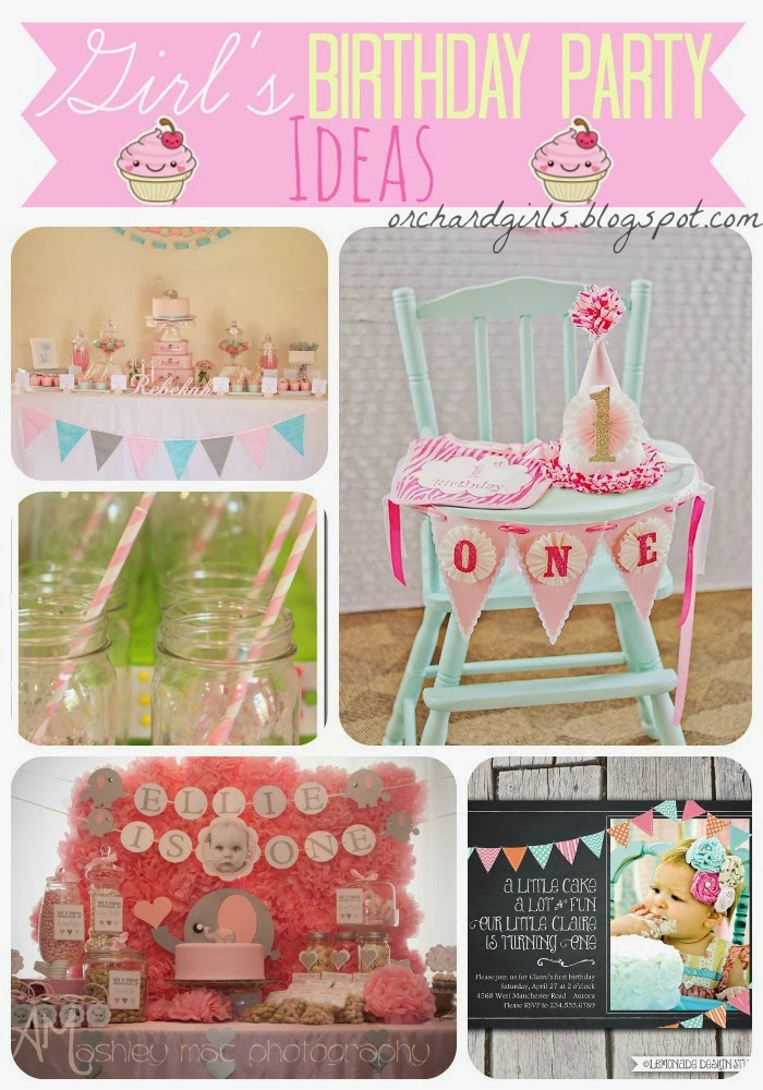 Orchard Girls Top Birthday Party Ideas