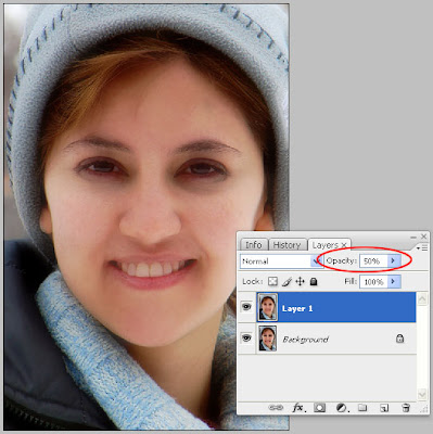 How to apply Smooth Skin Effect To Your Picture in Photoshop