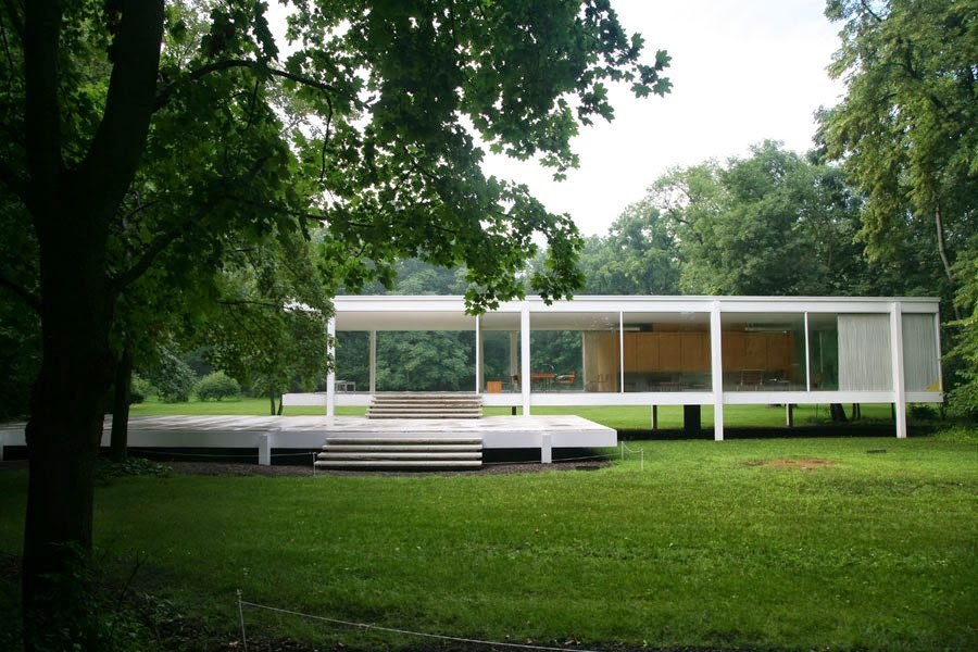 The Jewel Box Home The Farnsworth House A Modernist