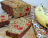 Cheery Cherry Banana Bread