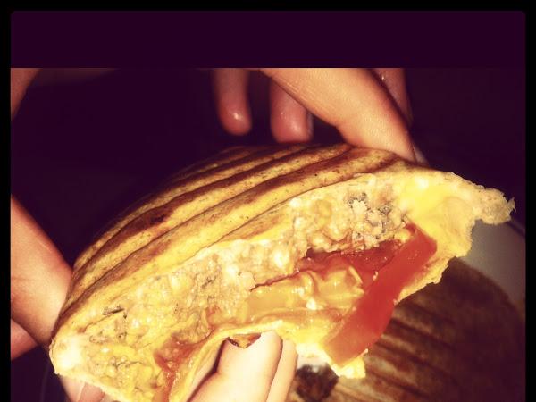 Skinny Cheeseburger Wraps