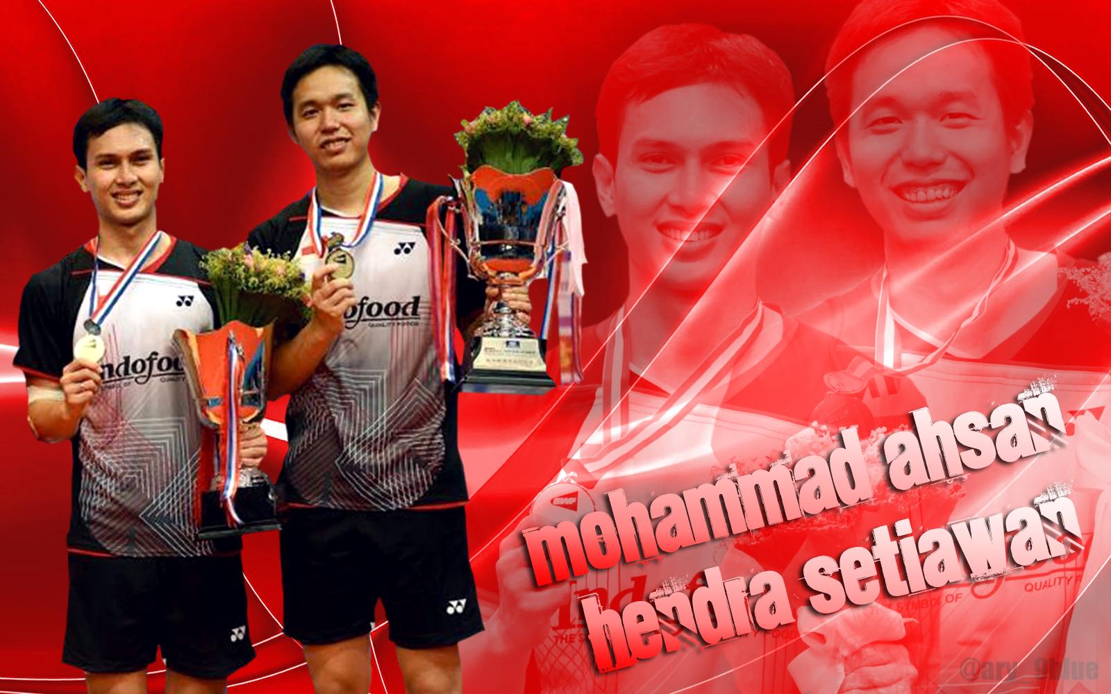 Wallpaper Mohammad Ahsan Hendra Setiawan