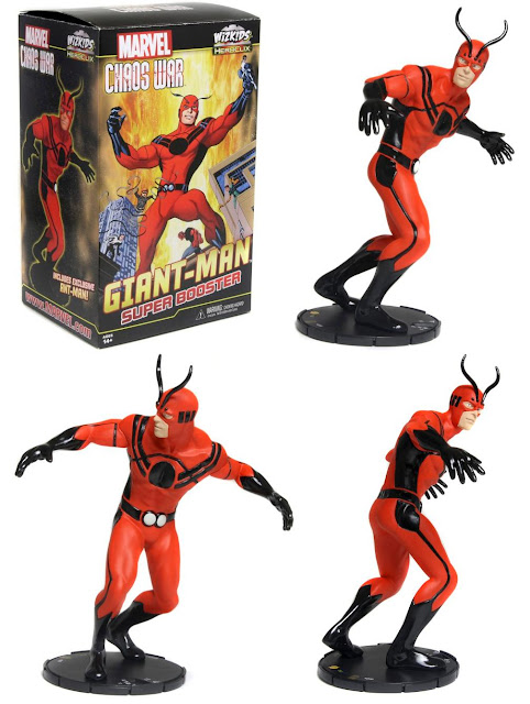 San Diego Comic-Con 2012 Exclusive Giant-Man HeroClix Super Booster by NECA