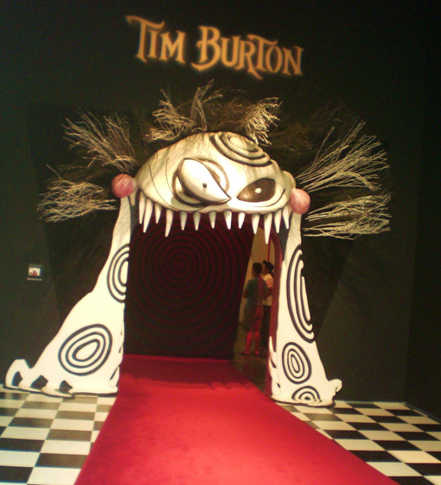 Midnight in the Garden of Evil: Tim Burton Art Exhibit
