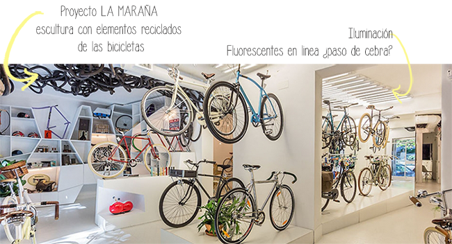 Slowroom tienda bicicletas, bicis Madrid - store design  - homepersonalshopper