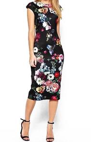 www.shein.com/Round-Neck-Flower-Print-Slim-Dress-p-235510-cat-1727.html?aff_id=2525