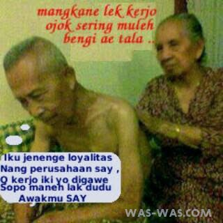 Gambar Lucu Bahasa Jawa Terbaru