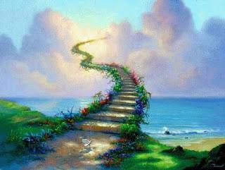 O caminho da vida começa no dia em que nascemos e segue em frente, quem sabe, em direcção dos céus