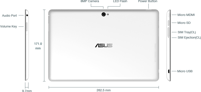 Asus VivoTab Smart specifications