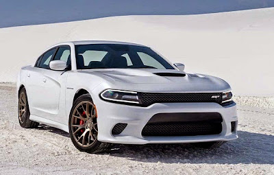 2016 Dodge Charger Front View Model