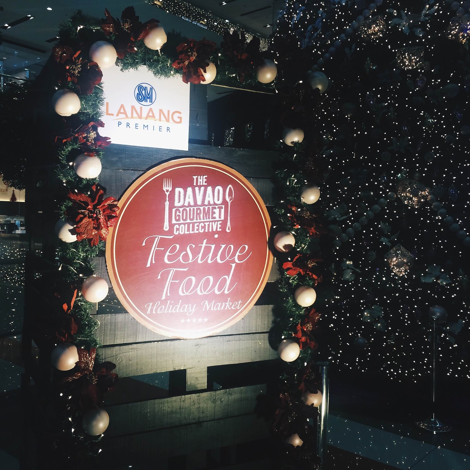 Davao Gourmet Collective Festive Food Holiday Market