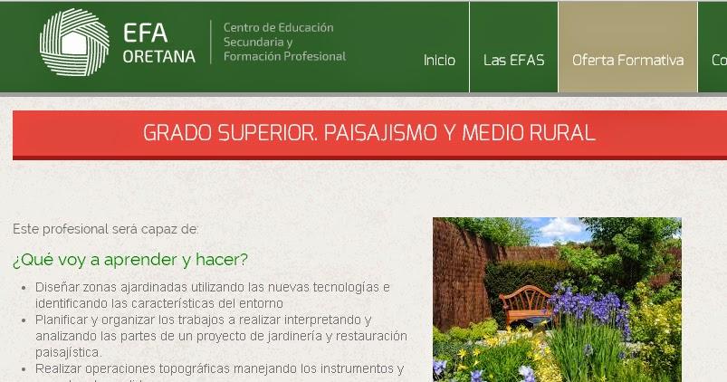 Grado superior paisajismo y medio rural jardiner a y for Pdf jardineria y paisajismo